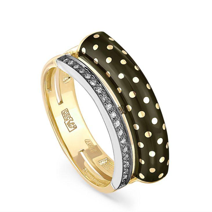 Кольцо 11-2965-1002 золото