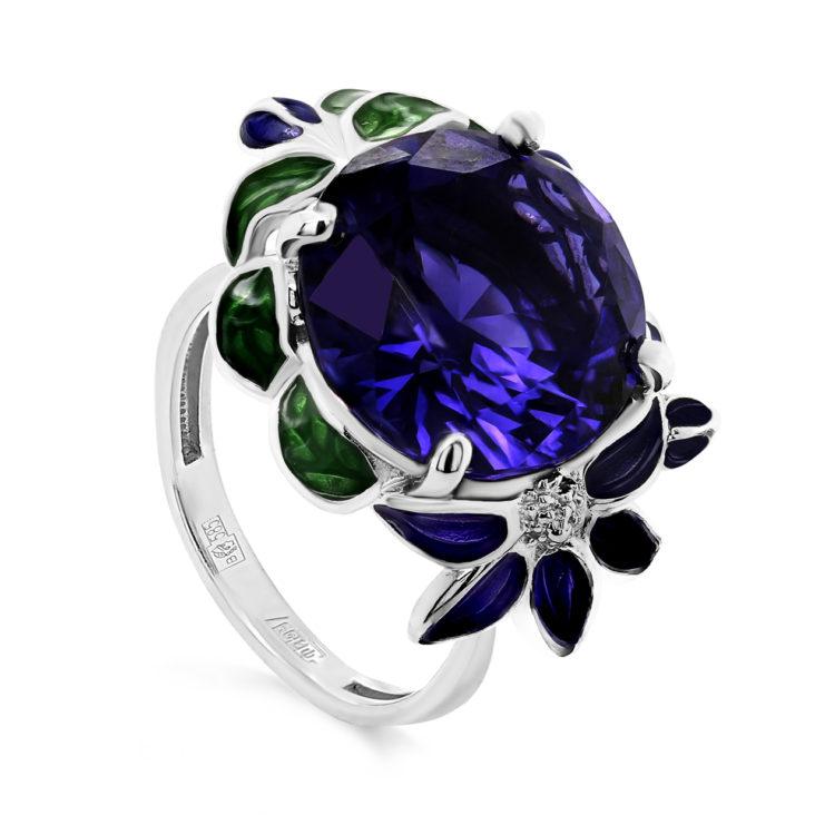 Кольцо 11-272-40890 серебро