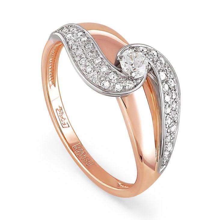 Кольцо 11-0772-1000 золото