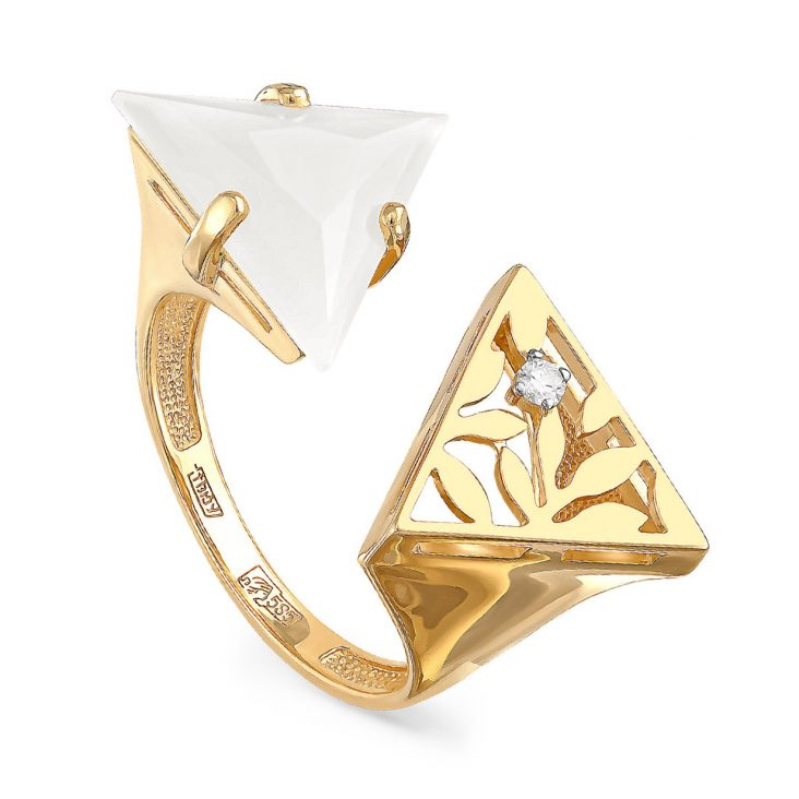 Кольцо 11-2996-1700 золото