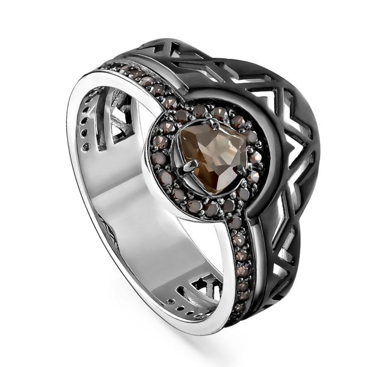 Кольцо 1-056-2889 серебро