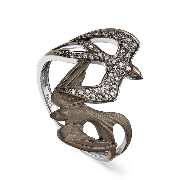 Кольцо 1-1440-1000 золото