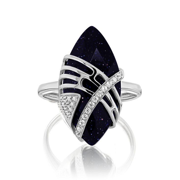 Кольцо 11-258-1300 серебро