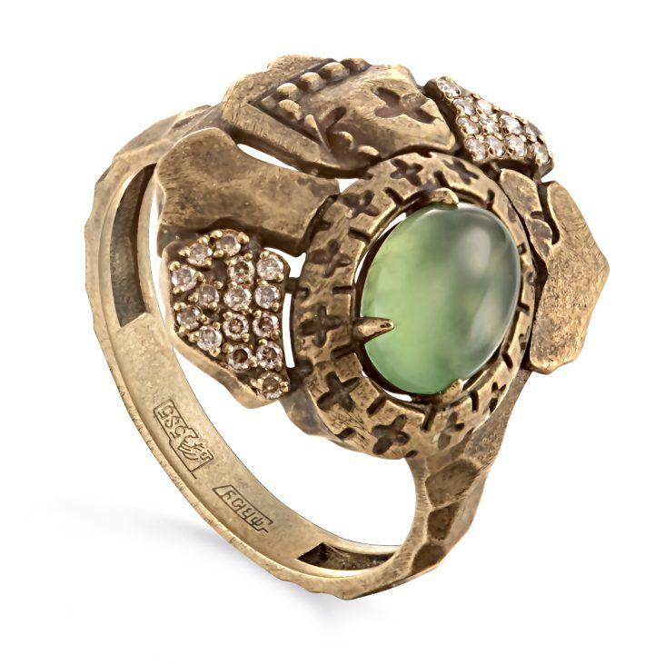 Кольцо 1-2529-6800 золото