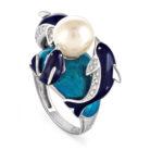 Кольцо 11-018-1509 серебро