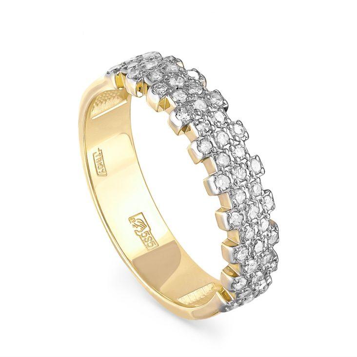 Кольцо 1-2455-1000 золото