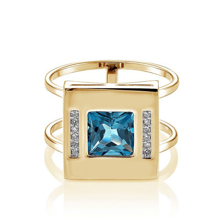 Кольцо 11-21181-2300 золото