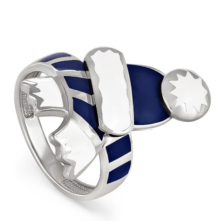 Кольцо 11-051-0007 серебро