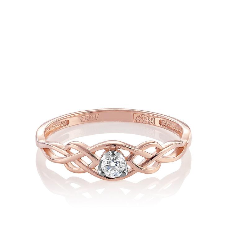 Кольцо 11-01217-1000 золото