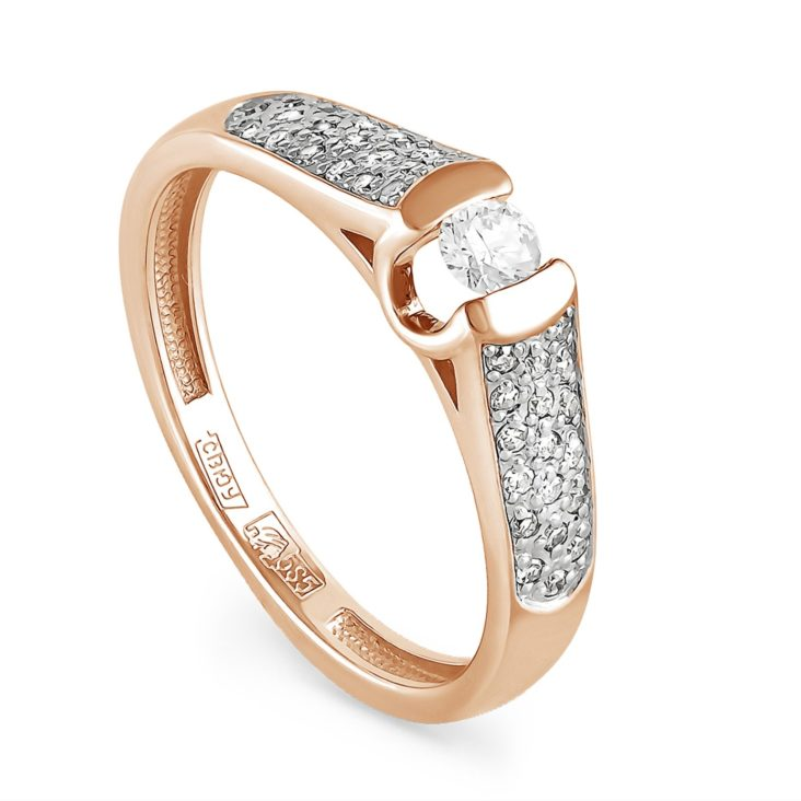 Кольцо 1-0402-1000 золото