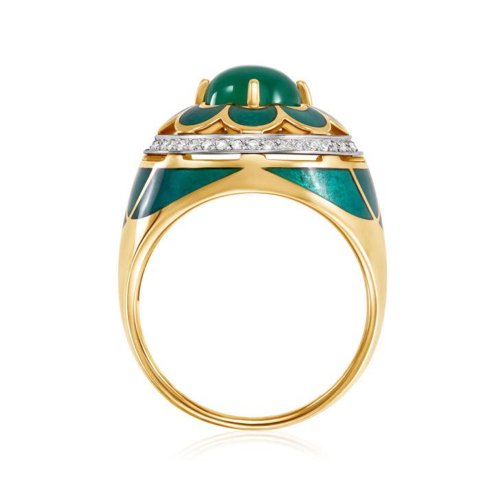 Кольцо 11-2648-1913 золото