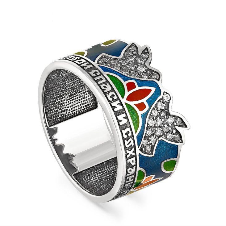 Кольцо 1-034-8101 серебро
