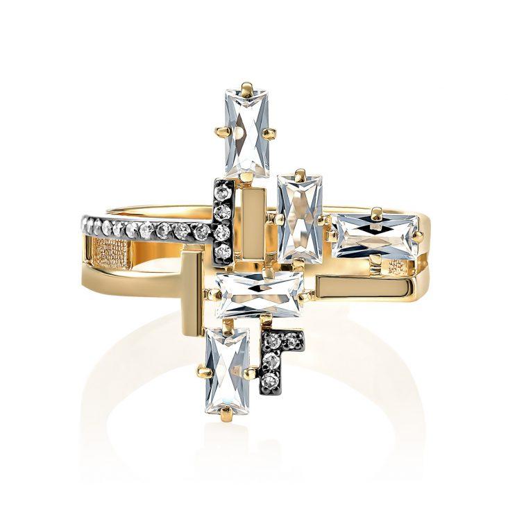 Кольцо 11-21124-5500 золото