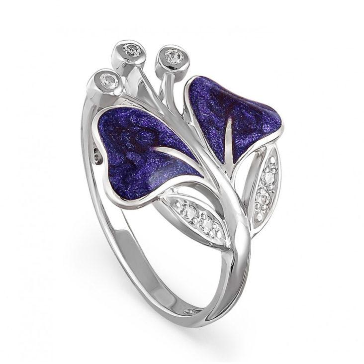 Кольцо 11-045-8126 серебро
