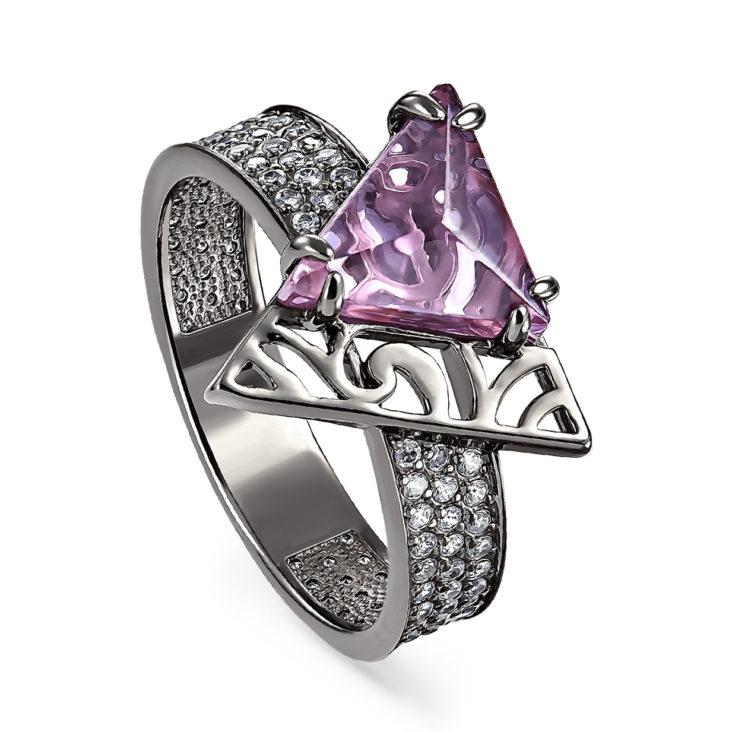 Кольцо 11-180-3289 серебро