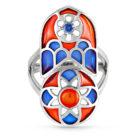 Кольцо 11-127-2401 серебро