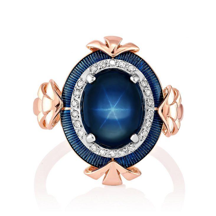 Кольцо 11-0928-1407 золото