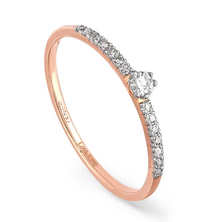 Кольцо 1-0352-1000 золото