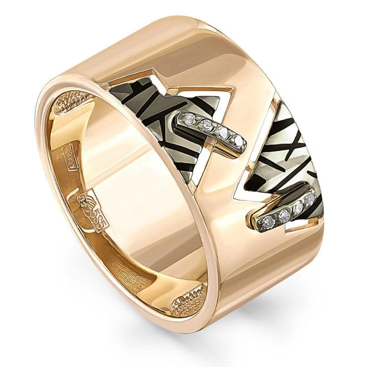 Кольцо 11-01011-1002 золото