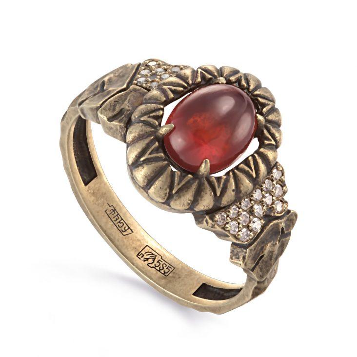 Кольцо 1-2526-9700 золото