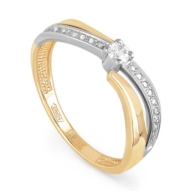 Кольцо 11-2782-1000 золото