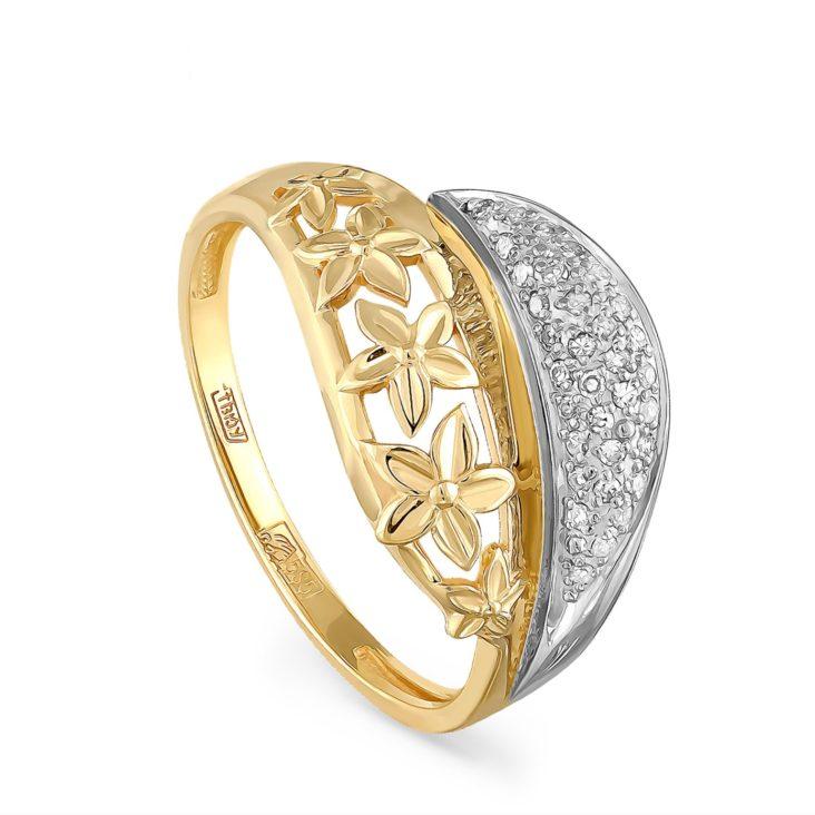 Кольцо 1-2462-1000 золото