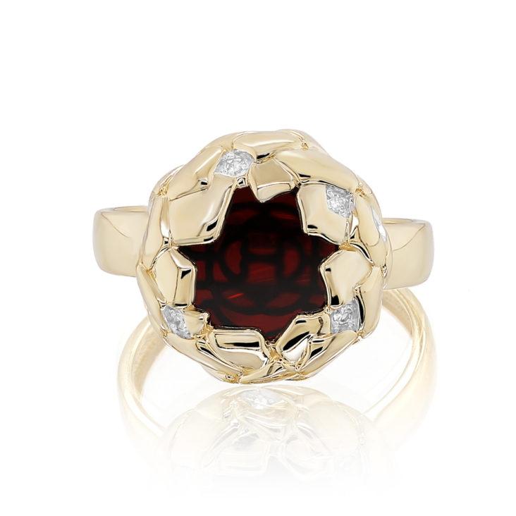 Кольцо 11-21357-3500 золото