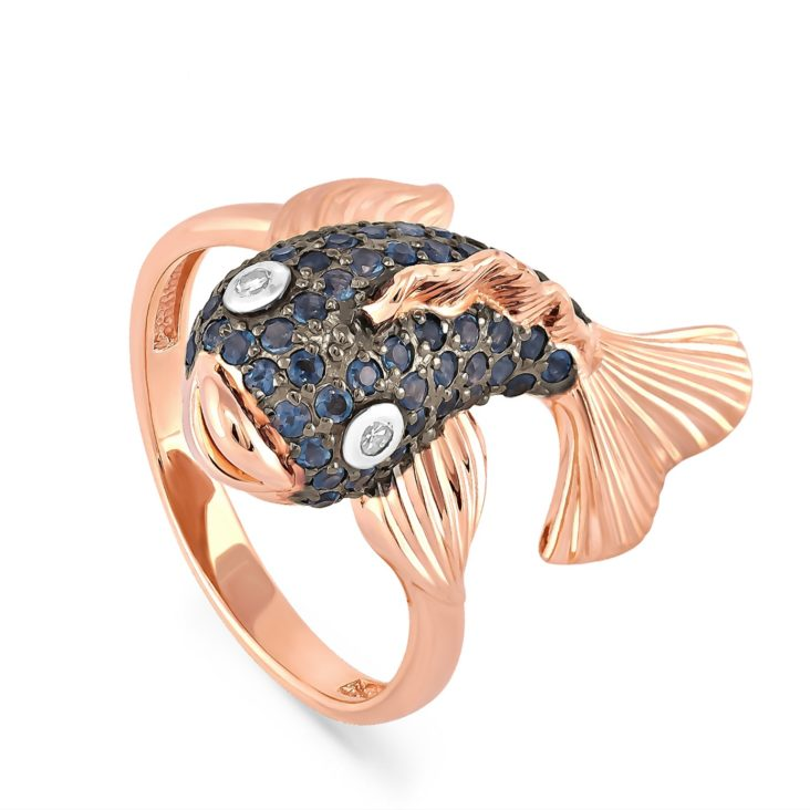 Кольцо 1-0442-1100 золото