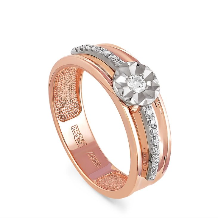 Кольцо 1-0335-1000 золото
