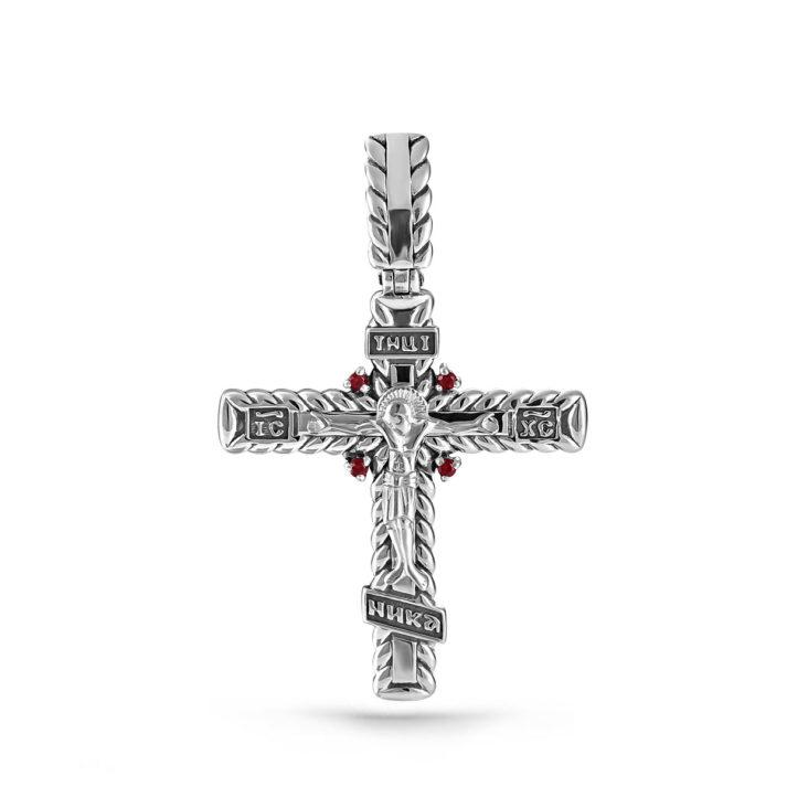 Крест 3-164-8583 серебро