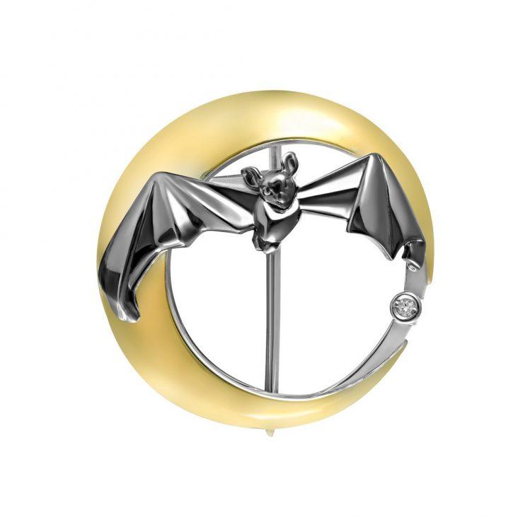 Брошь 5-028-7901 серебро