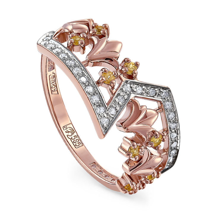 Кольцо 11-11237-4900 золото