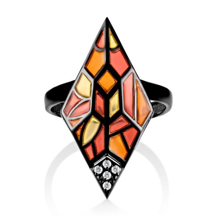 Кольцо 11-245-7901 серебро