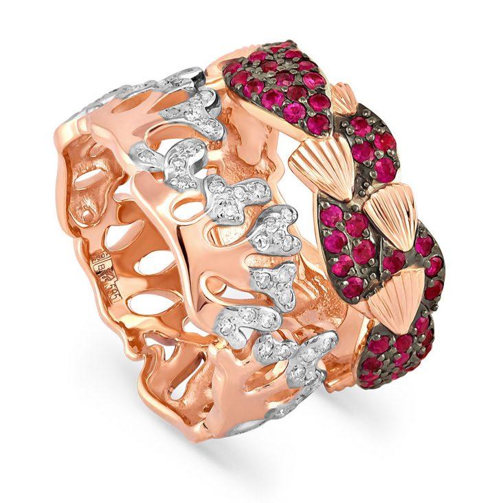Кольцо 11-0948-3400 золото