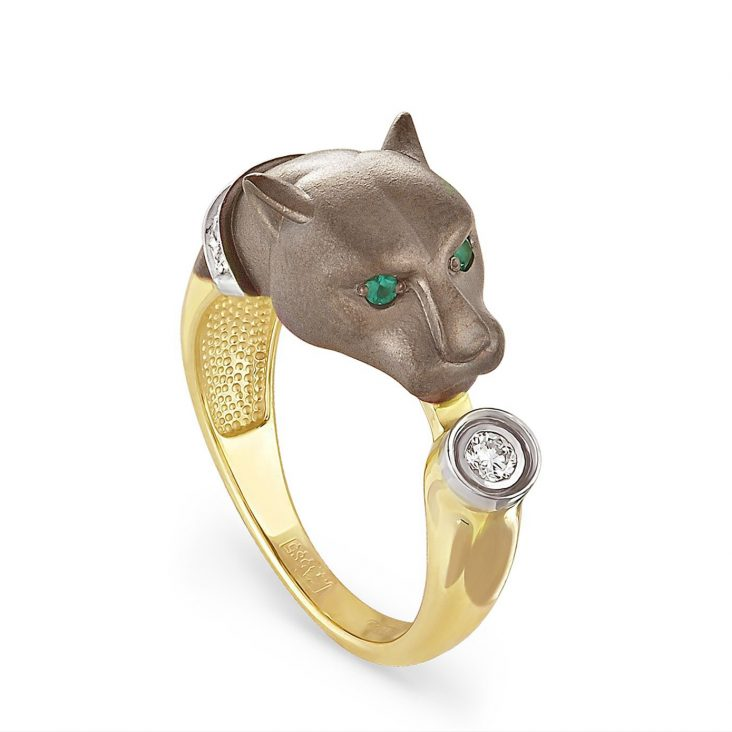Кольцо 1-2296-1200 золото