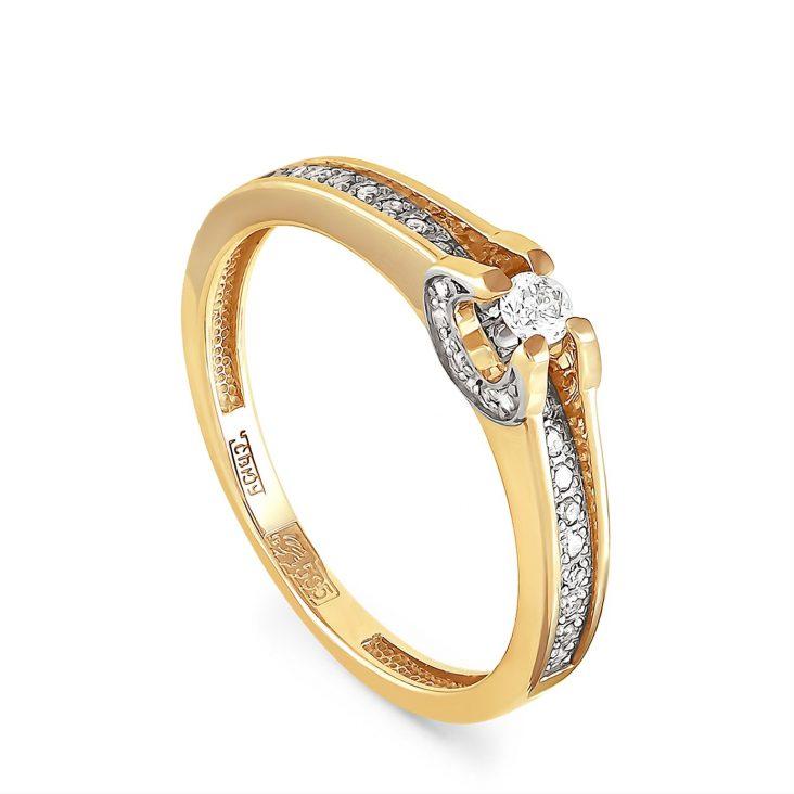 Кольцо 1-2344-1000 золото