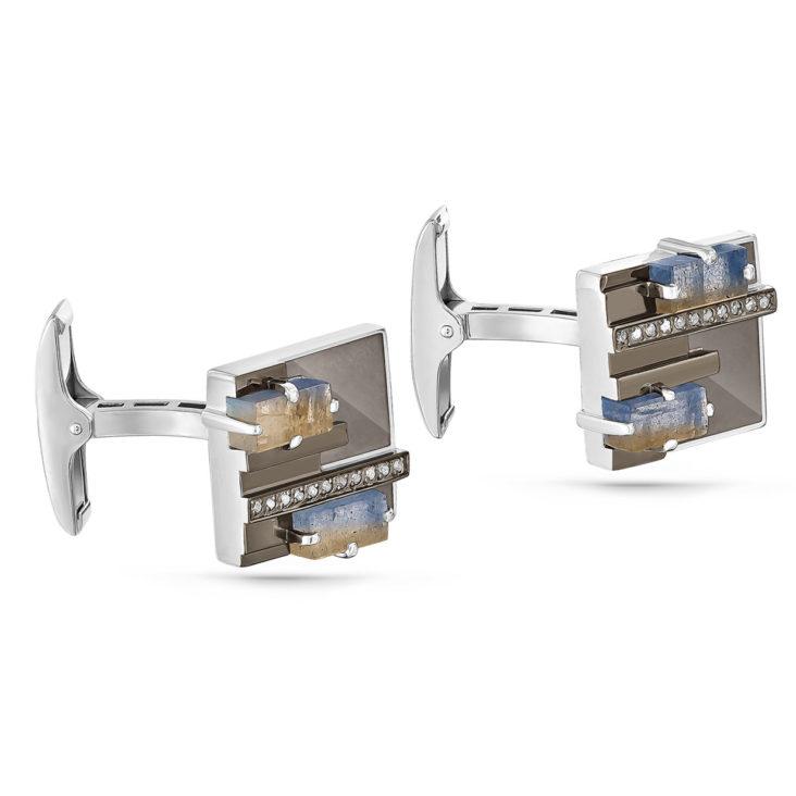 Запонки 17-161-6519 серебро
