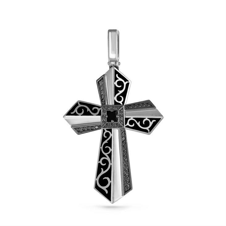 Крест 3-209-41002 серебро