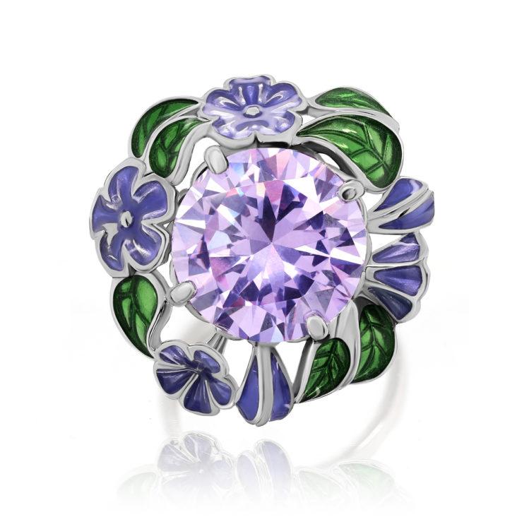 Кольцо 11-278-40501 серебро