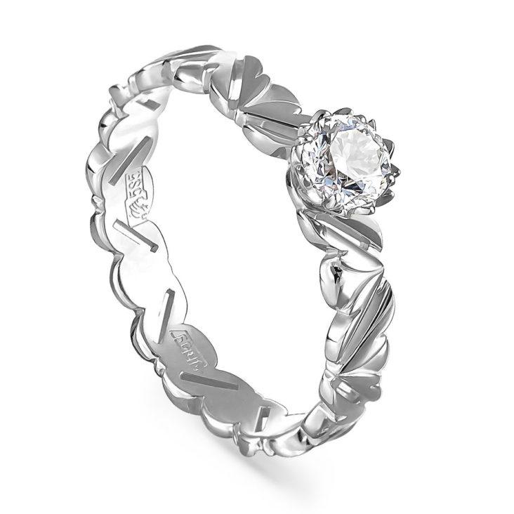 Кольцо 1-1501-1000 золото