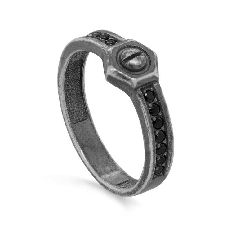 Кольцо 11-283-31083 серебро