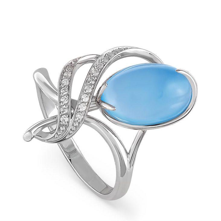 Кольцо 11-054-8000 серебро