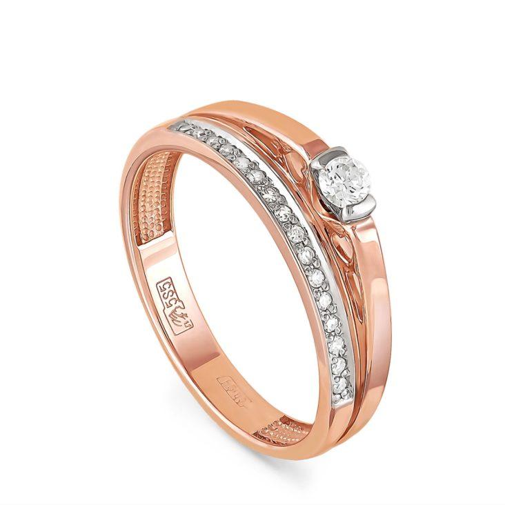 Кольцо 1-0325-1000 золото