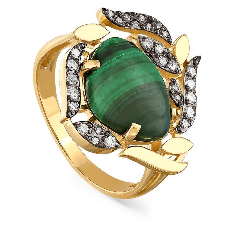 Кольцо 11-21024-4600 золото