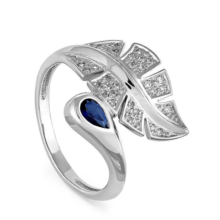 Кольцо 11-086-8200 серебро