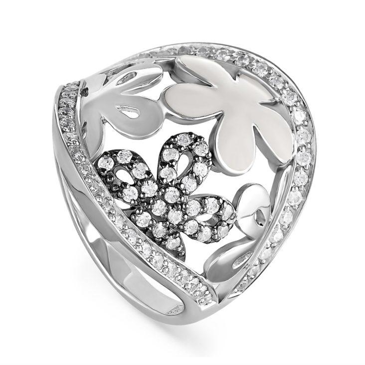 Кольцо 11-060-7910 серебро