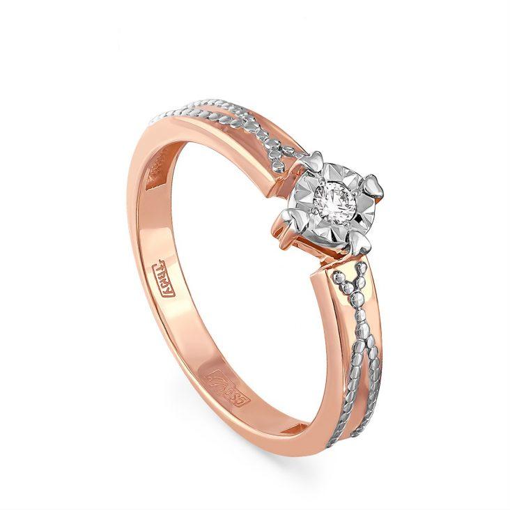 Кольцо 1-0446-1000 золото