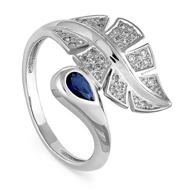Кольцо 11-086-2600 серебро