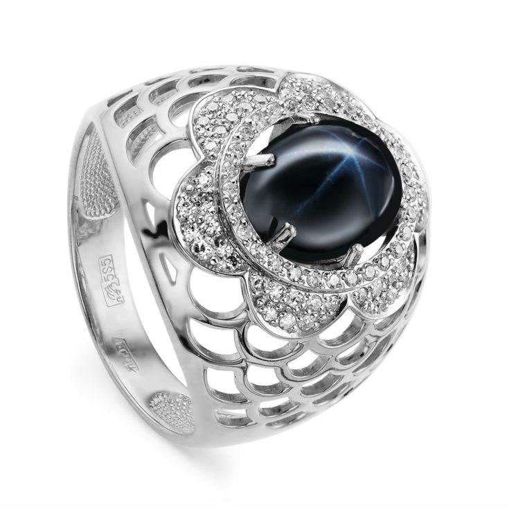 Кольцо 11-222-1400 серебро