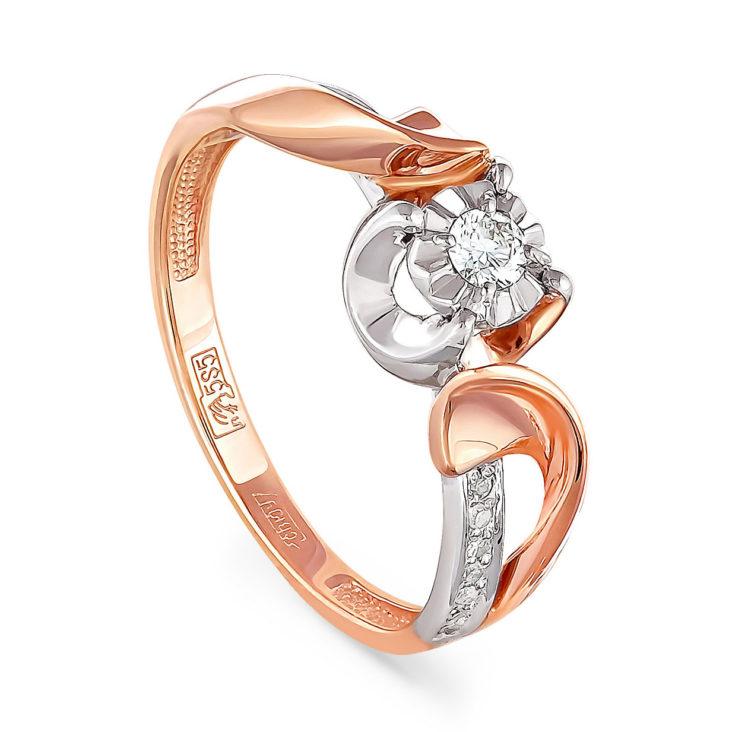 Кольцо 11-0790-1000 золото